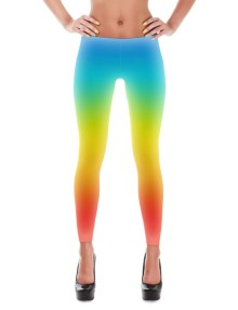 Color Gradient Leggings 1