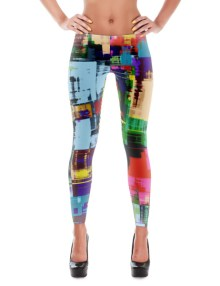 Abstract Leggings 1