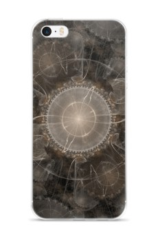 Fractal Abstract Flower - iPhone case 2
