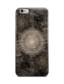 Fractal Abstract Flower - iPhone case 1