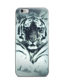 White Tiger iPhone case 1