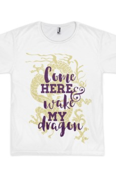 Come Wake My Dragon - Short sleeve men's t-shirt