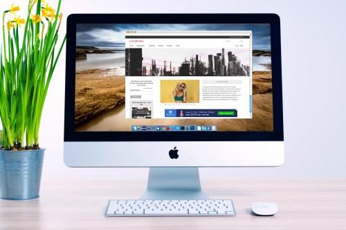 Office Mac Mockup