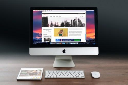 Apple Mac Mockup