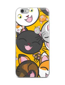 Happy Cats iPhone Case 7