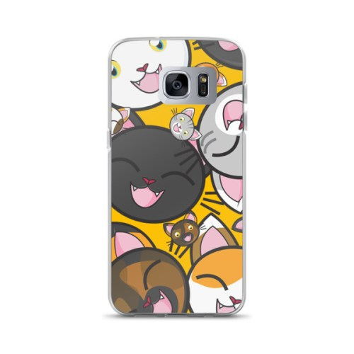 Happy Cats Samsung Case 1