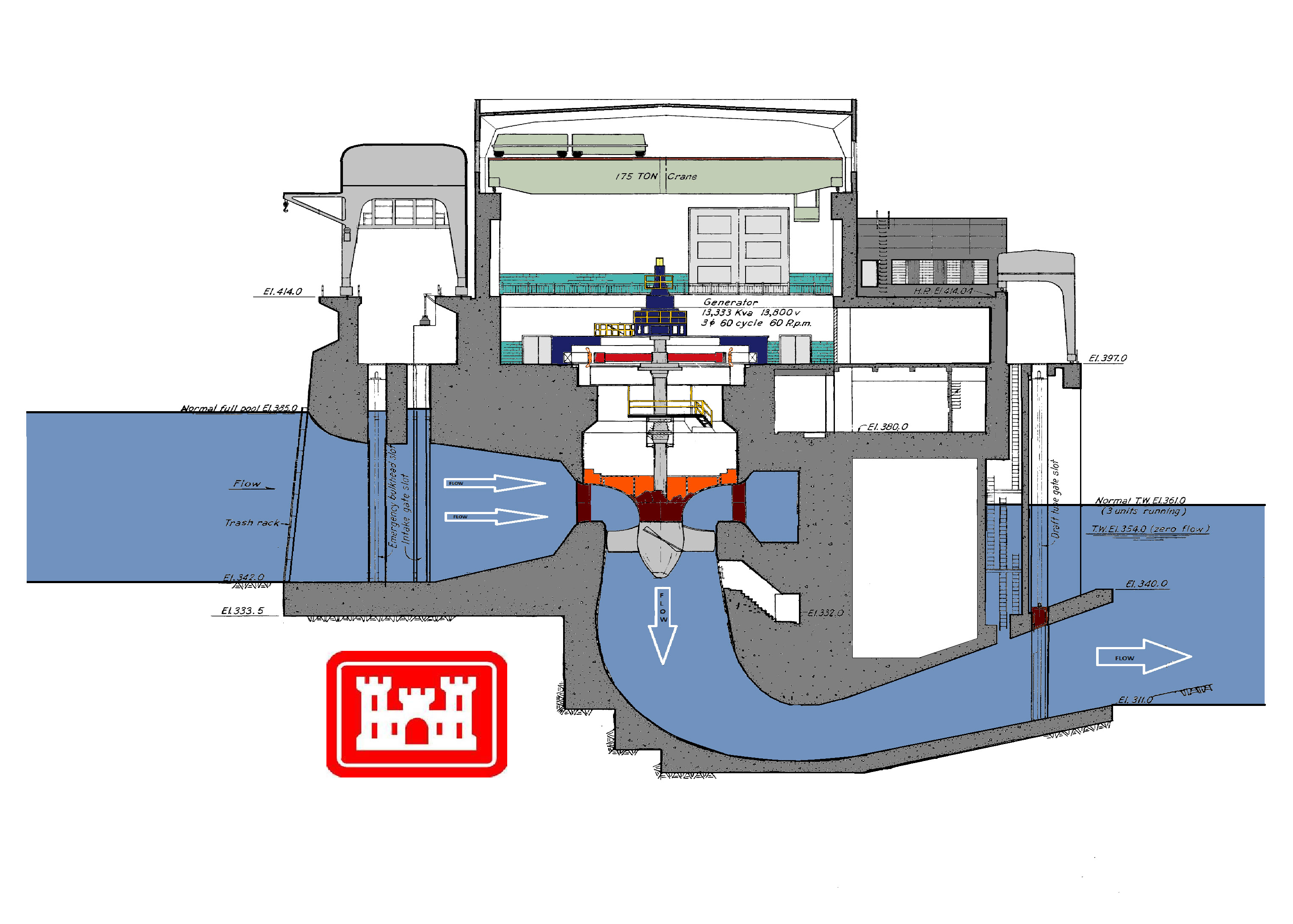 hight resolution of power plant clipart