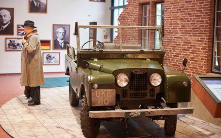 Sereis Land-Rover von Winston Churchill