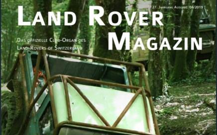 Titelblatt LRoS Magazin 4-2019