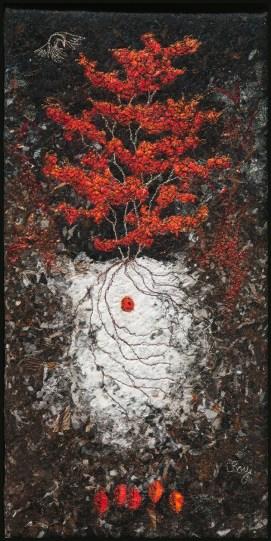 "RED HUCKLEBERRY 2012 16X8"""
