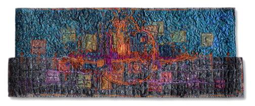 "City Lights   2006  19x50"""