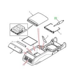 Land Rover Defender varmeapperat modstand UTP1282 fra Land
