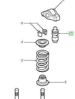 Land Rover Td5 hydraulisk ventil løfter for Defender og