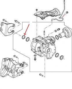Land Rover differentiale pakdåse for Freelander 2 & Range