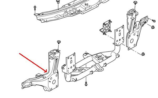 Range Rover L322 reservedele til karosseri & chassis