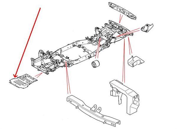 Range Rover reservedele for for karosseri & chassis