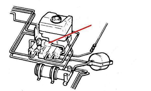 Land Rover bremse kraft ventil for Discovery 1 samt Range