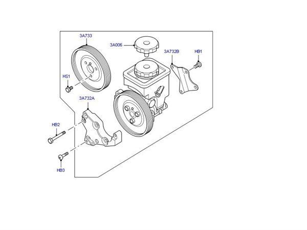Range Rover L322 3,0 TD6 aircondition kompressor