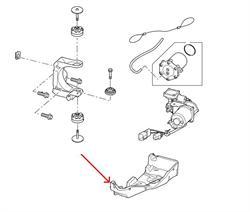 Land Rover afdæknings panel til kompressoren i Discovery 3