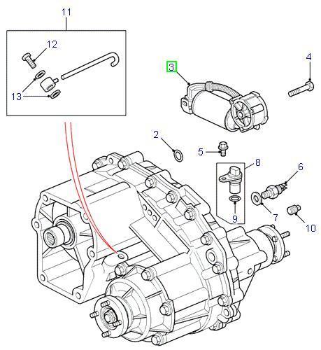 Range Rover P38 reservedele til gearkasse & transmission