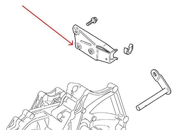 Land Rover Freelander koblings slavecylinder