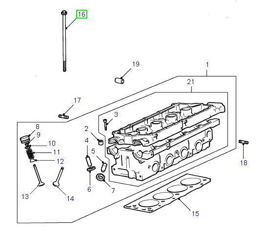 Land Rover Freelander toppaknings sæt for 1,8 benzin motorerne
