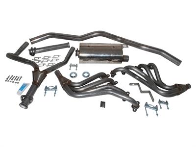Land Rover Defender 110 V8 rustfri stål sportsudstødning