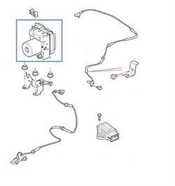 Land Rover ABS pumpe beregnet for Range Rover GCAT & Range