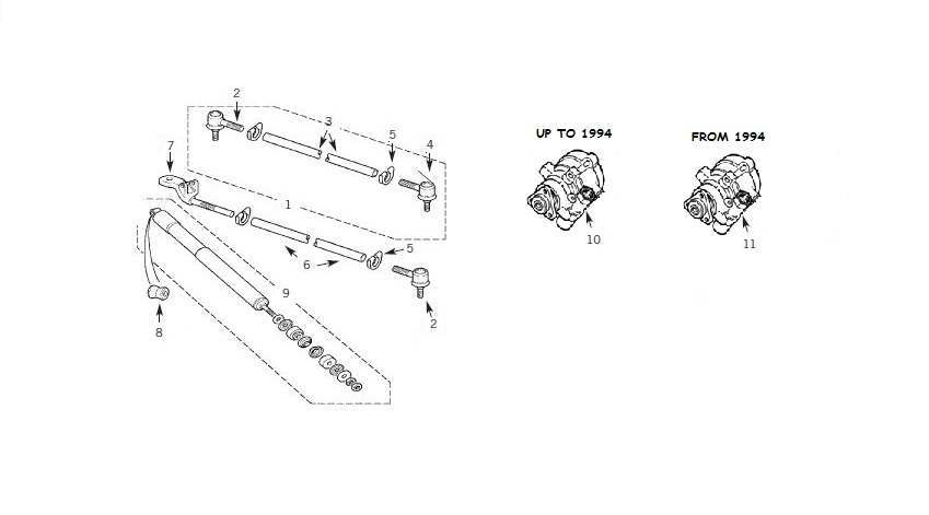 Toyota Land Cruiser Front Brakes Parts Diagram. Toyota