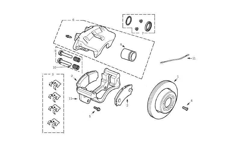 Service manual [2000 Land Rover Discovery Brake