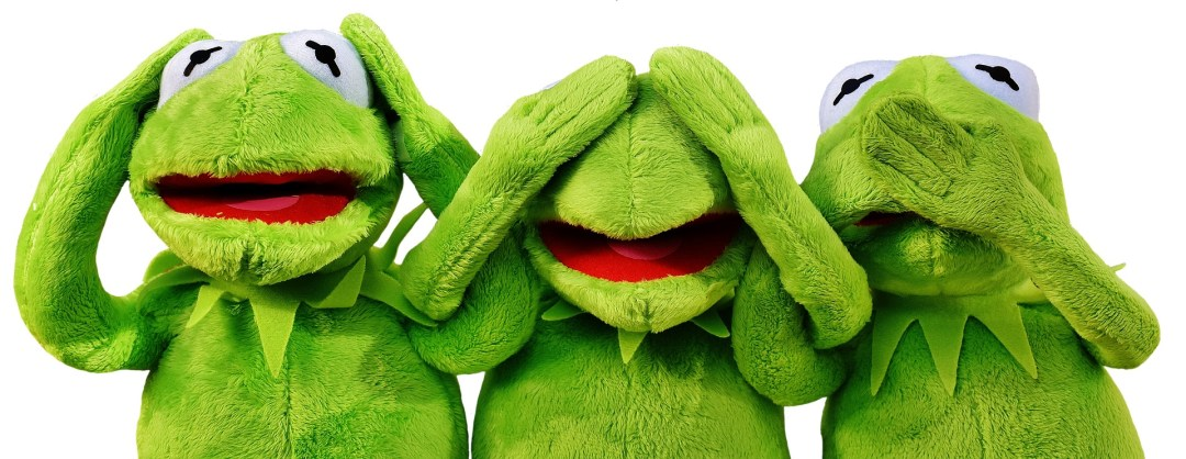 kermit - being green