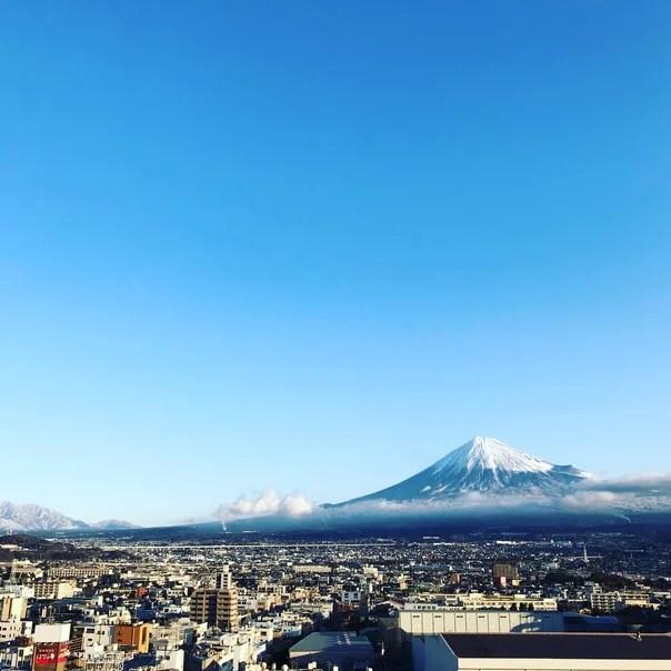 2月の富士山