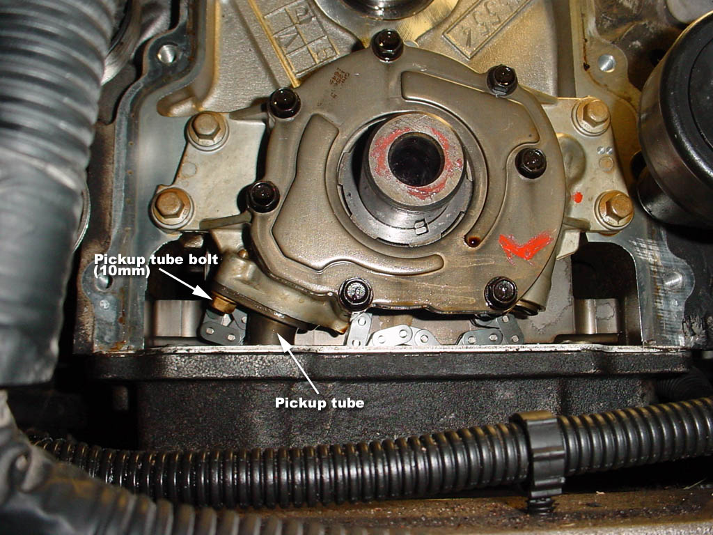 Ka24e Engine Wiring Diagram Cleaning The Oil Pickup Tube Without Removing Sump Just