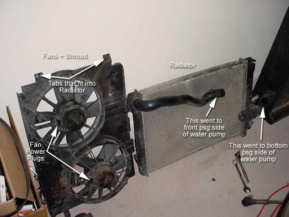 medium resolution of c5 corvette part diagram radiator removal