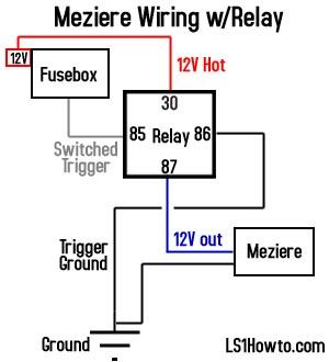 30 Amp Relay Wiring Help StangFix Com