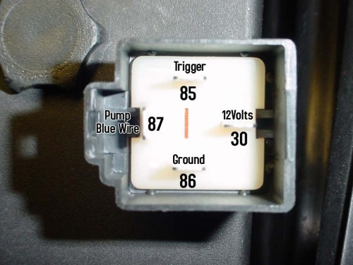small resolution of 85 corvette fuel pump relay wiring diagram