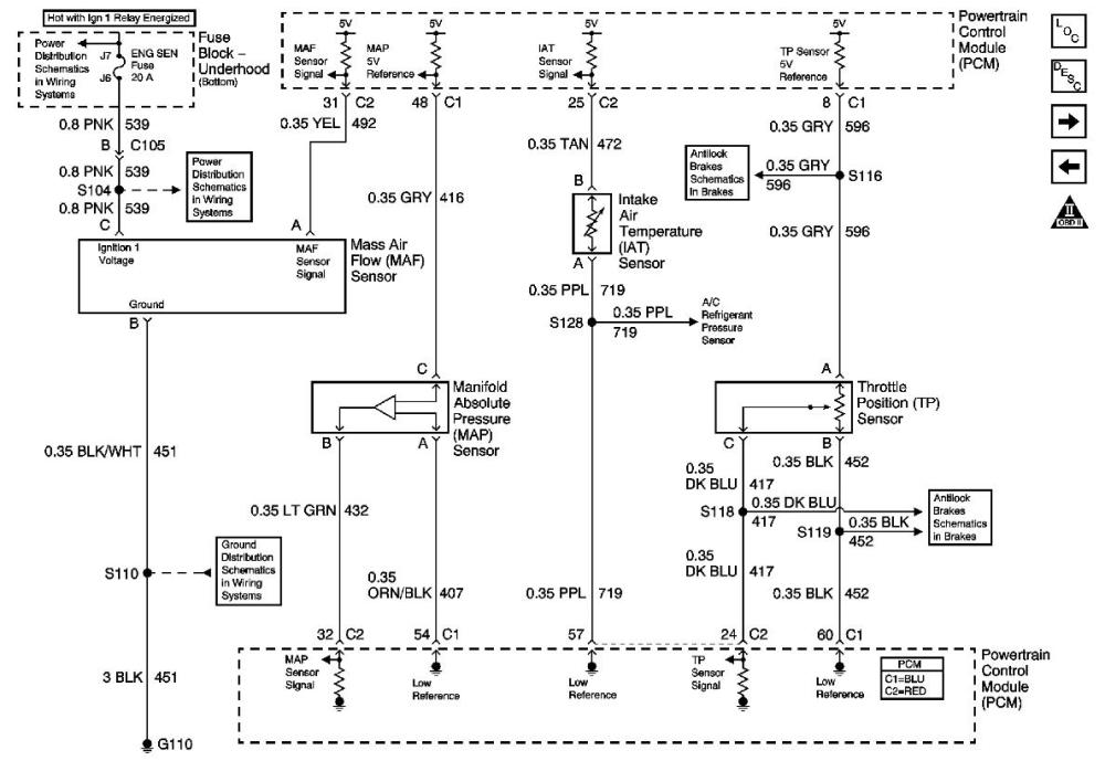medium resolution of efi 3 wire map sensor wiring diagram