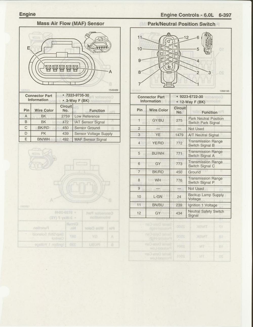 medium resolution of ls2 maf sensor harness pinouts ls1tech camaro and firebird 2006 gto silver 2006 gto maf wiring