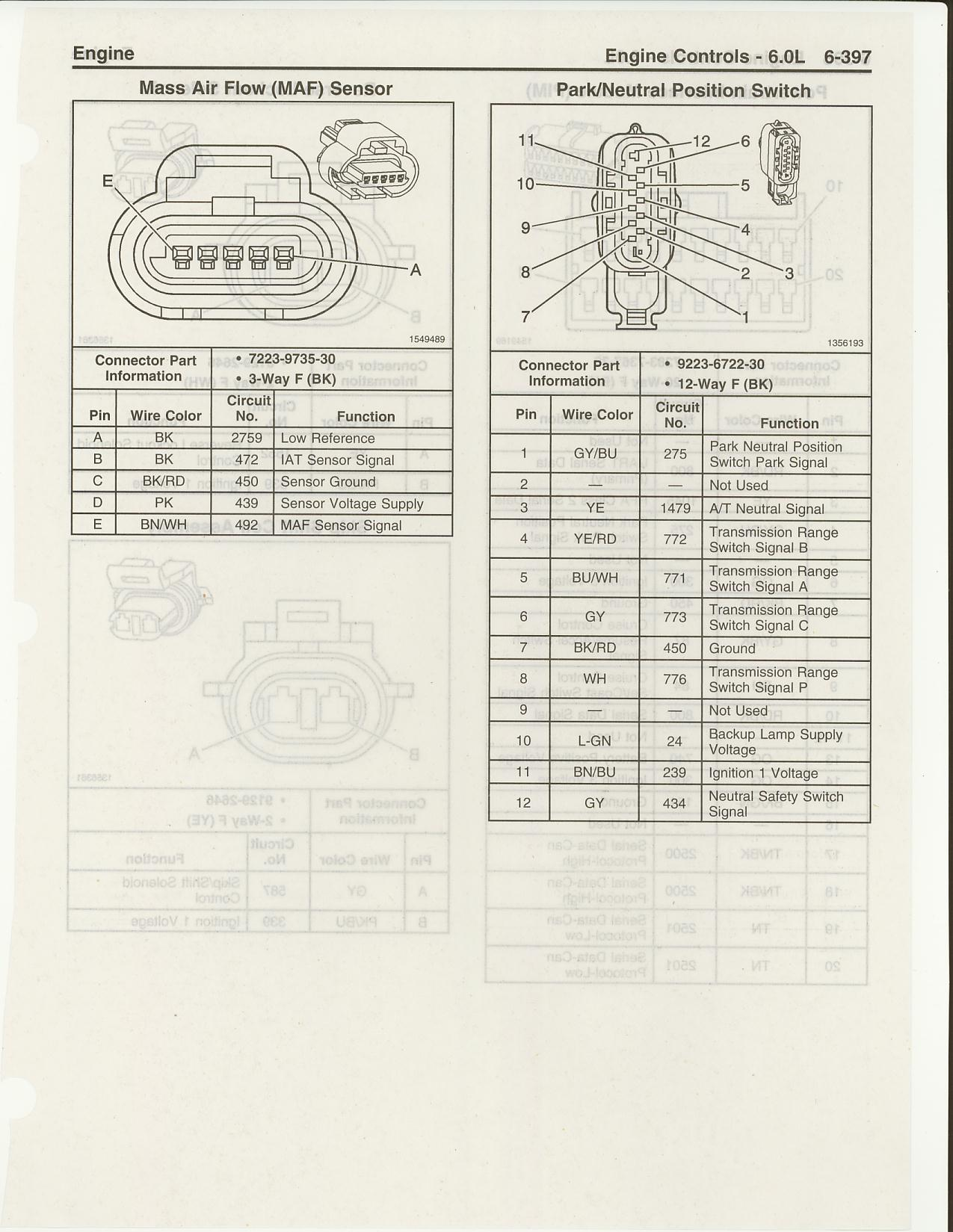 hight resolution of ls2 maf sensor harness pinouts ls1tech camaro and firebird 2006 gto silver 2006 gto maf wiring