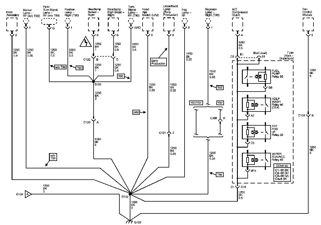 E96 C6 Corvette Wiring Diagrams