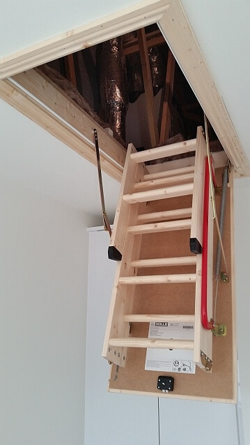 folding attic ladder dublin