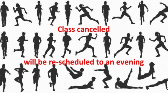 Ayla Fitness – Class Cancelled