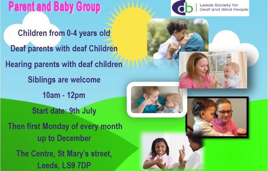 Parent and Baby Group Poster