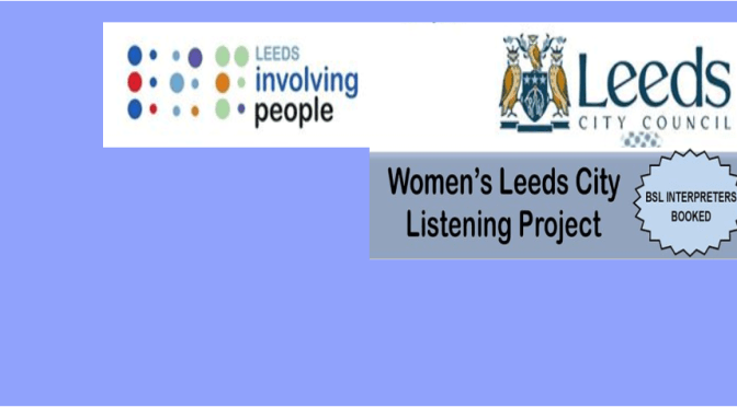 Women's Leeds City Listening Project Focus Group