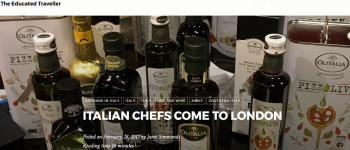Italian Chefs come to London