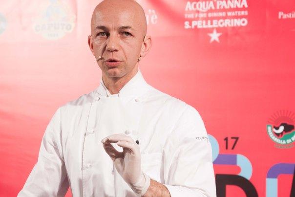 Lo chef Riccardo Camanini. foto di Francesca Massa