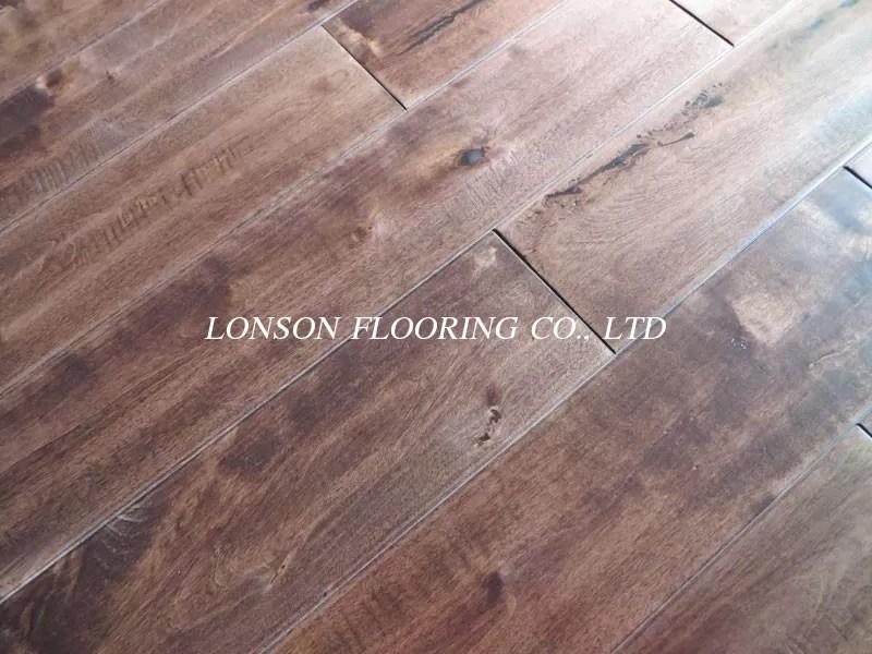 Solid Birch Hardwood Flooring
