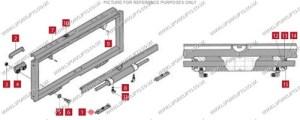 CASCADE 55F WEAR PAD (LS3817) | Lsfork Lifts