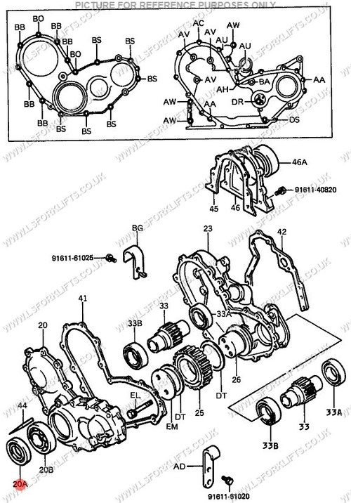 related with how timing toyota 4y engine
