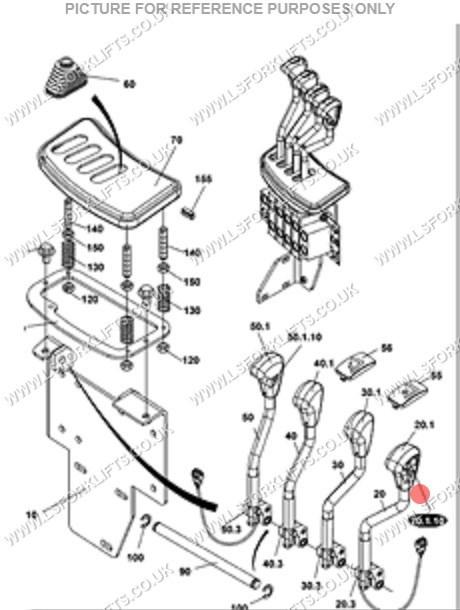 JUNGHEINRICH DFG425 FORWARD/ REVERSE SWITCH (LS4227